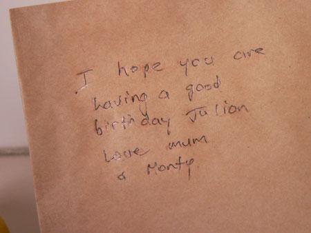 Birthday - seven