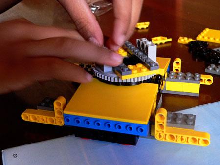 Lego Crane Crawler - stage 1