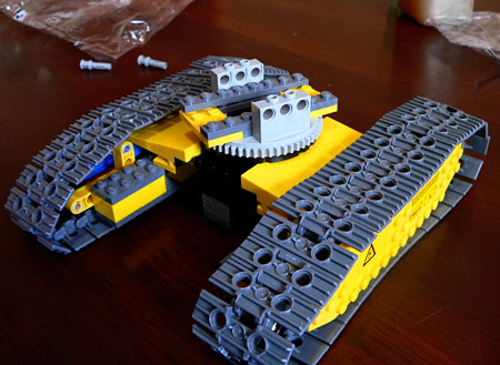 Lego Crane Crawler - end of stage 1