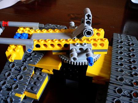 Lego Crane Crawler - stage 2