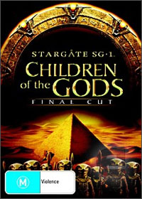 Win a Stargate Children of the Gods dvd