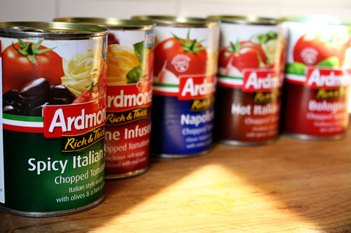 Ardmona rich and think canned tomatoes