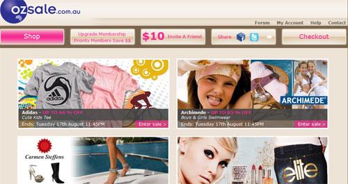 ozsalewebsite