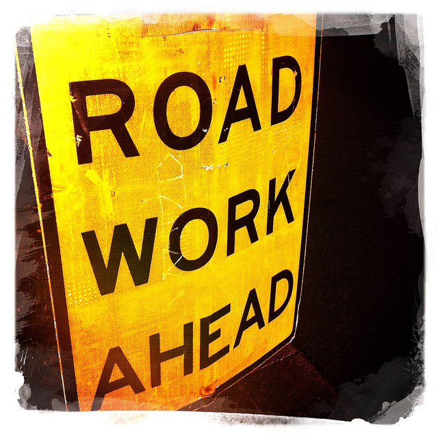 Work ahead - add your content before publishing