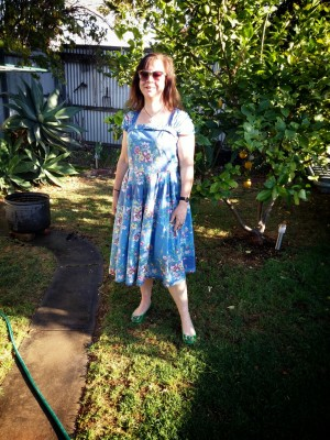 Frocktober day 22 A Lazybones dress